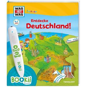 Tessloff-Verlag BOOKii WAS IST WAS Junior Starter-Set Entdecke Deutschland!