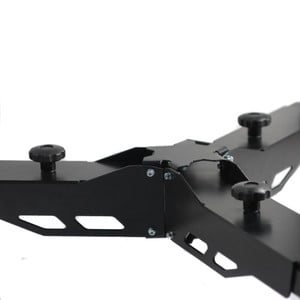 ASToptics Heavy Duty Dolly for Telescope Mounts (150mm Wheels)
