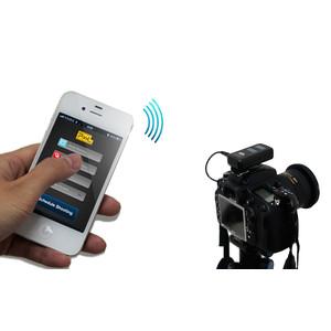 Pixel telecomando Bluetooth scatto remoto con timer BG-100 per Nikon (Apple)