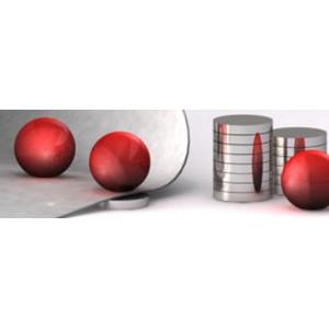 Bacher Verlag Neoballs magnetic balls set 54 pieces red