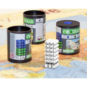 Bacher Verlag Neoballs Magnetkugel-Set 54 Stück silber