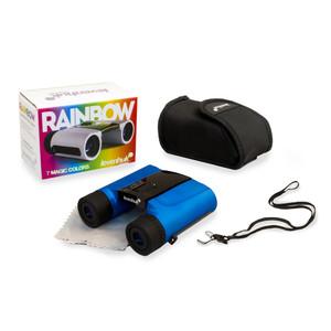 Levenhuk Binocolo Rainbow 8x25 Blue Wave