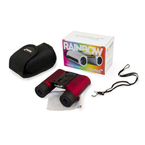 Levenhuk Binocolo Rainbow 8x25 Red Berry