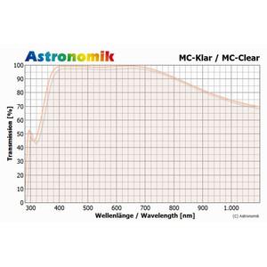 Astronomik Filtro MC de vidrio transparente, montura T2 (M42x0,75)