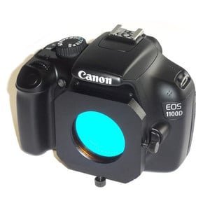 TS Optics Canon EOS T2 adapter with filter drawer