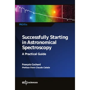 Shelyak Buch Successfully Starting in Astronomical Spectroscopy