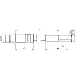 StarLight Opto-Electronics GLF1-1000-11.0, 1-armig, Armlänge 1000 mm, aktiver Durchmesser 11,0 mm