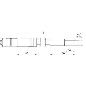 StarLight Opto-Electronics GLF1-1000-9.0, 1-armig, Armlänge 1000 mm, aktiver Durchmesser 9 mm
