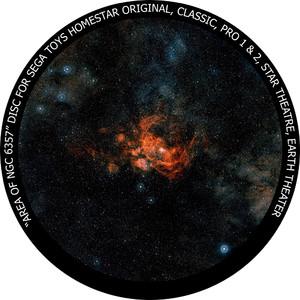 Redmark Diapositiva per il planetario Sega Homestar con la Galassia NGC 6357