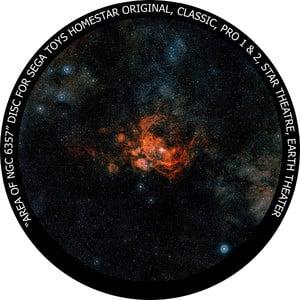 Redmark Disc for the Sega Homestar Planetarium - NGC 6357