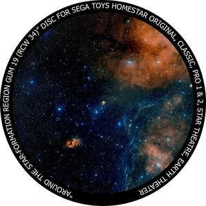 Redmark Diapositive pour le planétarium Sega Homestar - nébuleuse Gum 19