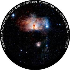 Redmark Diapositiva per il planetario Sega Homestar con la Nebulosa Fiamma