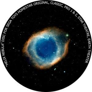 Redmark Dia für das Sega Homestar Planetarium Helixnebel