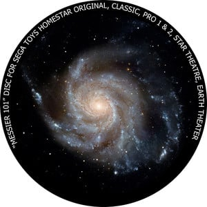 Redmark Dia für das Sega Homestar Planetarium Messier 101