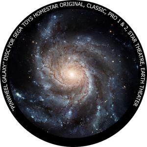 Redmark Diapositiva para planetario Homestar de Sega: galaxia del Molinete