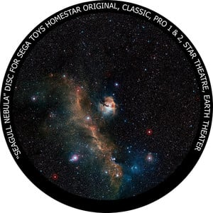 Redmark Disc for the Sega Homestar Planetarium - Seagull Nebula