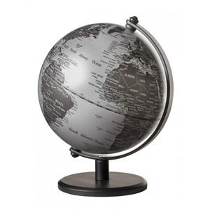 emform Mini-Globus Gagarin Matt Silver 13cm