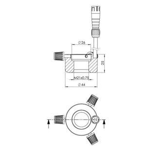 StarLight Opto-Electronics RL1-10 A, amber (590 nm), Ø20mm