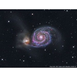 Meade Teleskop ACF-SC 254/2500 UHTC LX200 GoTo ohne Stativ