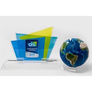 AstroReality Raised relief globe EARTH