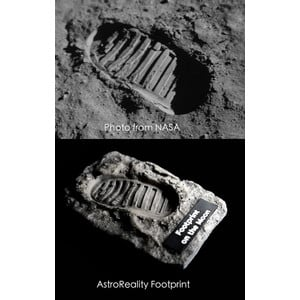 AstroReality Footprint on the Moon