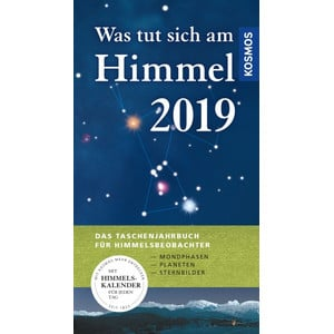 Kosmos Verlag Jahrbuch Was tut sich am Himmel 2019
