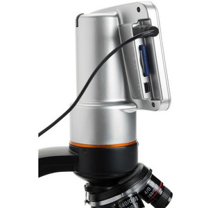 Celestron Microscopio TetraView, Touch Screen, 40-400x