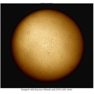 DayStar Telescopio Solare ST 60/930 SolarScout SS60-ds H-Alpha OTA