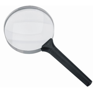 Schweizer Magnifying glass Handlupe Basic-Line CLASSIC, 4D/2x/Ø100mm, bikonvex