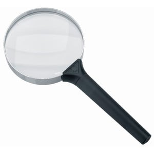 Schweizer Magnifying glass Handlupe Basic-Line CLASSIC, 4D/2x/Ø90mm, bikonvex