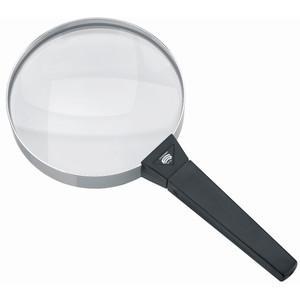Schweizer Magnifying glass Handlupe Basic-Line FORTE, 4D/2x/Ø120mm, bikonvex
