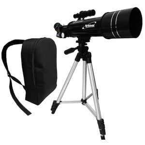 Orbinar Telescópio 400/70 Travel Telescope + Backpack Spotting Scope Refractor Astronomy