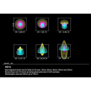 Orion Optics UK Telescopio N 350/1330 AG14 Carbon Astrograph OTA