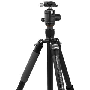 Omegon Pro 32mm carbon tripod including ball head