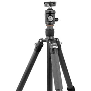 Omegon Pro 32mm Carbon-Dreibeinstativ inkl. Kugelkopf