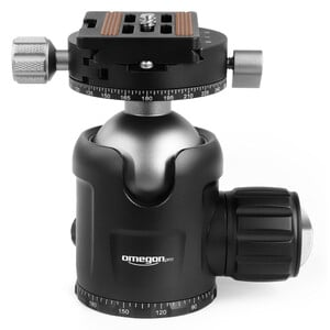 Omegon Tripé de carbono Pro 32mm Carbon-Dreibeinstativ inkl. Kugelkopf