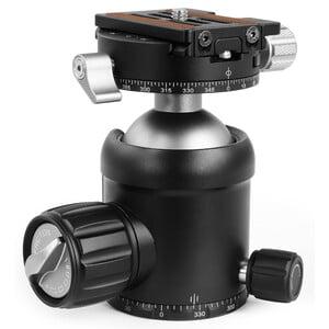Omegon Treppiede Carbonio Pro 32mm Carbon-Dreibeinstativ inkl. Kugelkopf