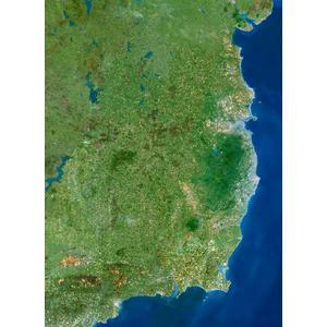Planet Observer Mapa de : la región de Leinster