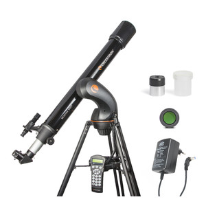 Celestron Teleskop AC 90/910 NexStar 90 GT Kometen-Set