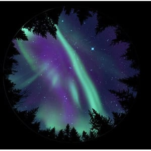 astrial Disc for the Sega Homestar Planetarium - Aurora Borealis, Scenic