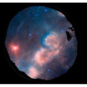 astrial Diapositiva para planetario Homestar de Sega: Jabbah Scenic