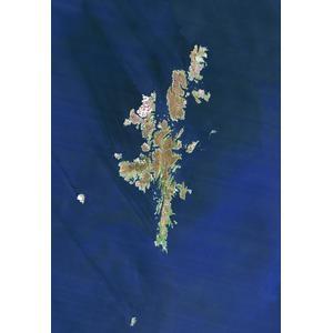Planet Observer Mapa de : la región de las Islas Shetland