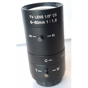 Lunatico Zoom Lense 6-60mm