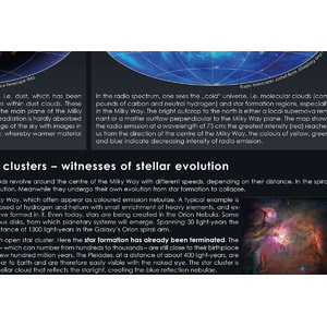 Astronomie-Verlag Poster Our Milky Way Galaxy