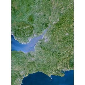 Planet Observer Mapa de : la región de South West Great Britain