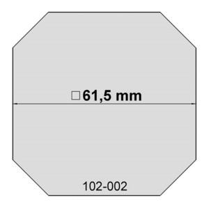 euro EMC Ersatzfolie für Sonnenfilter Größe 2 und 2B