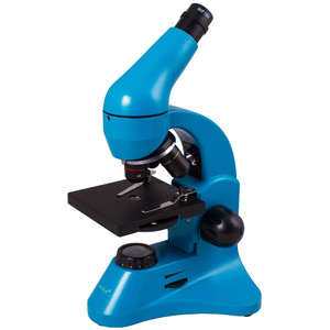 Levenhuk Microscopio Rainbow 50L Plus Azure