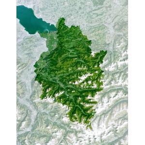 Planet Observer Mappa Regionale Regione del Vorarlberg