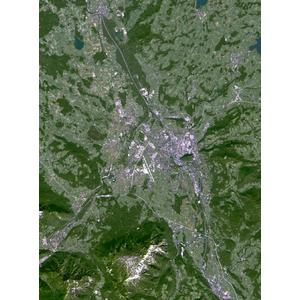 Planet Observer Mappa Regionale Regione di Salisburgo