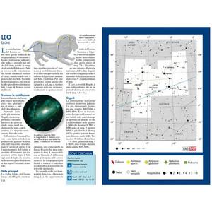 Libreria Geografica Libro Atlante di Astronomia Tascabile
